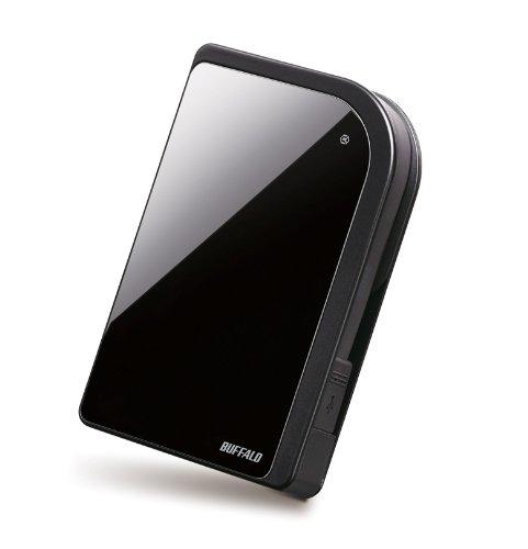 BUFFALO 対衝撃 セキュリティー機能搭載 ポータブルHDD 1.0TB ブラック HD-PXT1.0TU2-BK