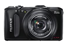 Fujifilm Finepix F600EXR Black, 16MP Digital Camera