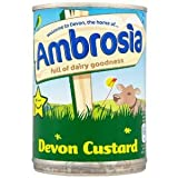 Ambrosia Devon Custard 400 g (Pack of 12)