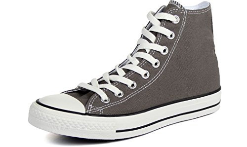Converse Unisex Chuck Taylor All Star High Top (4 D(M) Men = 6 B(M) Women, Charcoal)