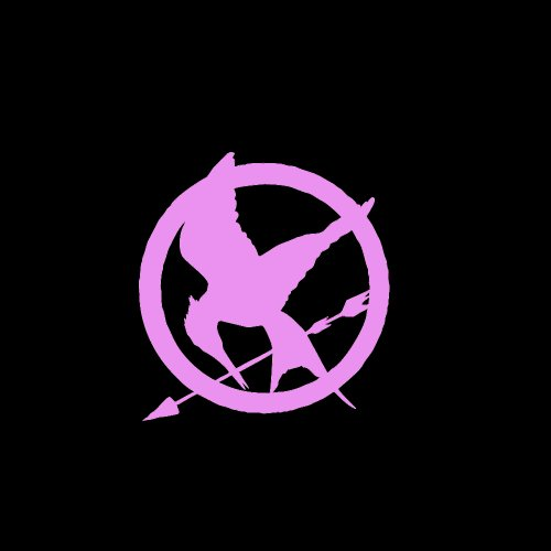 Hunger Games Mockingjay Symbol Car Window Decal Sticker ...