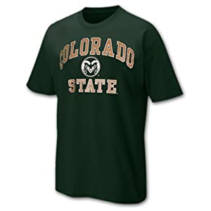 Buy Colorado State Rams Arch and Logo Short Sleeve T-shirt by Unknown