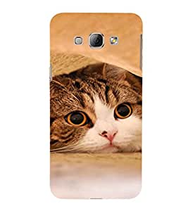 EPICCASE Cutie Cat Mobile Back Case Cover For Samsung Galaxy A7 (Designer Case)