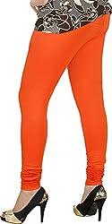 Red Chilli Women's Cotton Slim Fit Leggings (alg_052_rc, Free Size, Bronze)