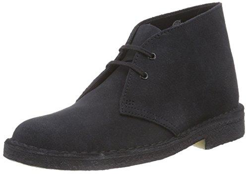 Clarks Originals Desert Boot, Damen Derby Schnürhalbschuhe, Blau (NAVY SUEDE), 38 EU (5 Damen UK)