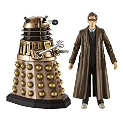Doctor Who Twin Pack - Tenth Doctor and Dalek