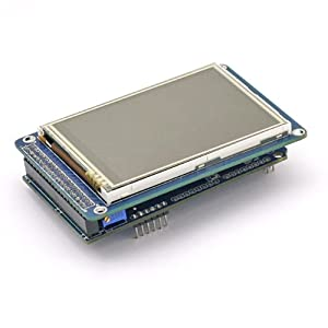 SainSmart TFT LCD Adjustable Shield for Arduino 2560 R3 1280 A082 Plug