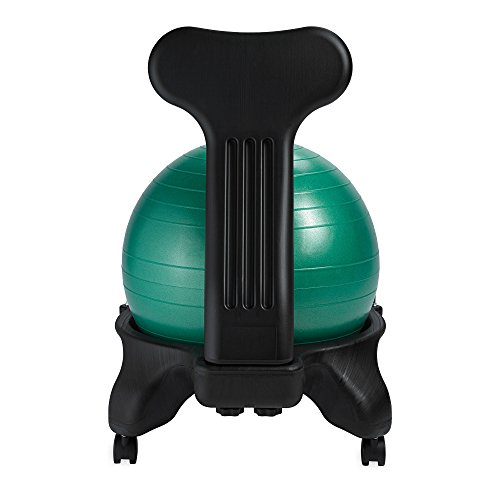 Gaiam Balance Ball Chair Inflation: Gaiam Balance Ball Chair, Green Furniture Office Furniture