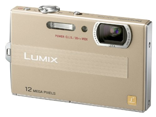 Panasonic デジタルカメラ LUMIX (ルミックス) FP8 ゴールド DMC-FP8-N