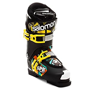 Salomon SPK 90 Ski Boot - Men's Black/Black, 26.5