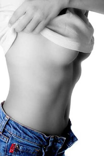 Girls Blue Jeans Girl Akt Erotik Poster Fotokunst Model nackte hot Girls schöne Frauen - Grösse 61x91,5 cm