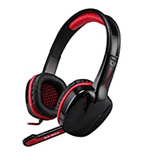 Sades SA-904 Headband Stereo USB 7.1 Surround Sound Gaming Headphone Headset with Microphone