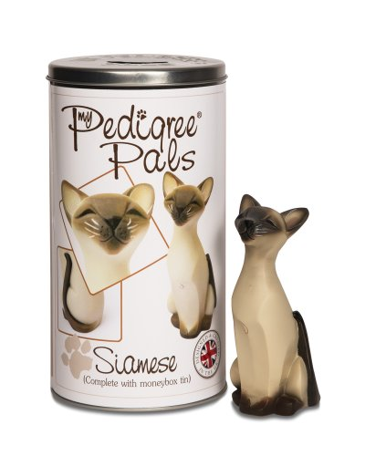 Pavilion Gift Company 46024 Siamese Cat Figurine, 5-1/2-Inch