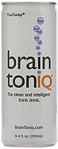 Brain Toniq - the non-caffeinated Think Drink - 24 cans