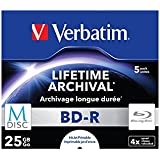 Verbatim 43823 M-Disc BD-R Rohlinge