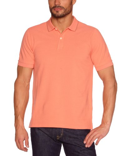 Dockers - Polo, manica corta, uomo, rosso (Rot (Ginger Spice 0003)), S