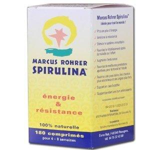 Cabassi & Giuriati Marcus Rohrer Integratore Alimentare a base di Spirulina - 180 Compresse
