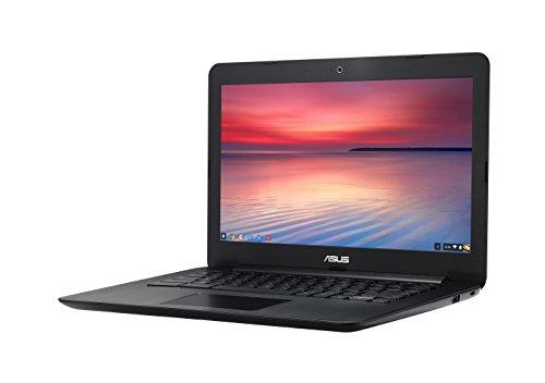 【日本正規品】 ASUS ノートブック Chromebook ブラック ( Chrome OS / 13.3inch / Celeron N2830 / 4G / 16G EMMC / 日本語キーボード ) C300MA-BLACK