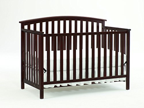 Graco Freeport Convertible Crib, Cherry (Graco Bed Frame compare prices)
