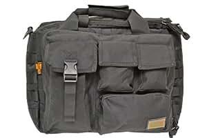 2WAY ショルダーバッグ トートバッグ タクティカルバッグ 鞄 ブラック 黒 黒色 BK