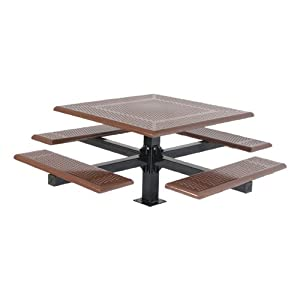Square Cantilever Picnic Table by SportsPlay Equipment Inc