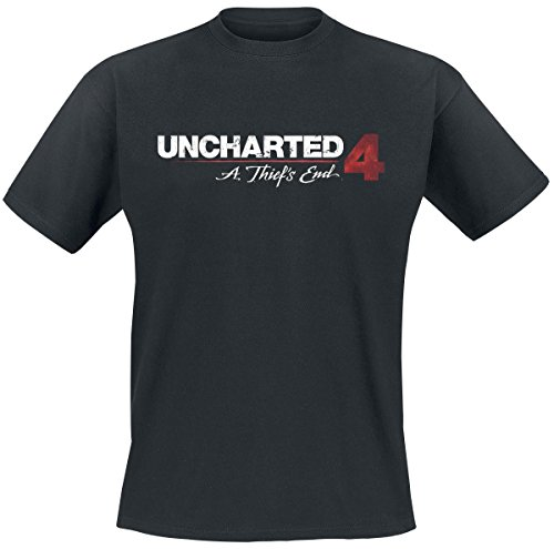 Uncharted 4 - Logo T-Shirt nero M