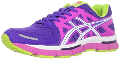 ASICS Women's Gel-Neo33 Running Shoe,Electric Purple/White/Hot Pink,6 M US