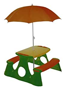 Paradiso Picnic Table with Umbrella