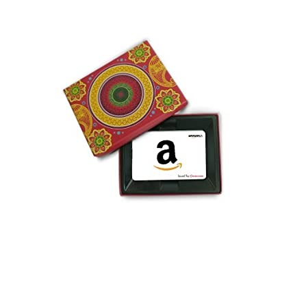 Amazon Gift Card Pink Festive Box