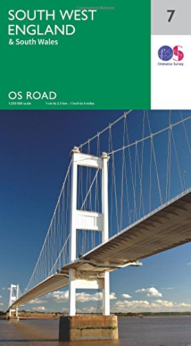 os-road-map-7-south-west-england