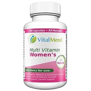 amazon   vital mend women s daily multivitamin 100