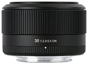 Sigma Objectif 30 mm F2,8 DN EX Monture Sony E-mount