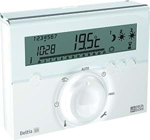 Delta Dore DEL6050415 Programmateur radio fil pilote 1 à 3 Zones
