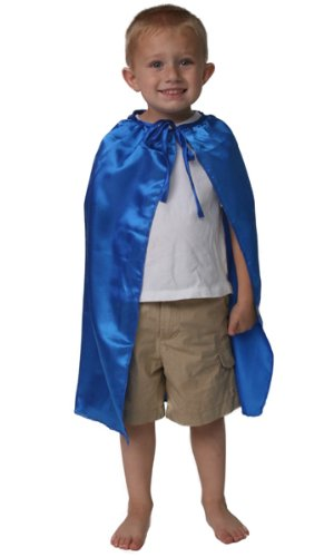 "Dozen Blue 20"" Satin Superhero Capes"