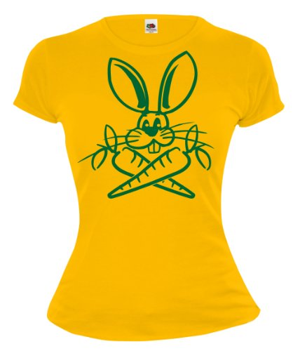 buXsbaum Girlie T-Shirt Easter-Rabbit V2