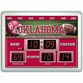 Oklahoma Sooners Clock - 14