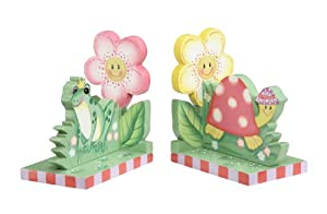 Teamson Kids Girls Bookend - Magic Garden Room Collection
