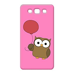 100 Degree Celsius Back Cover for Samsung Galaxy S3 (Owl Printed Multicolor)