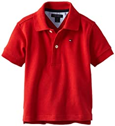 Tommy Hilfiger Baby Boys\' Ivy Polo Shirt, Regal Red, 18 Months
