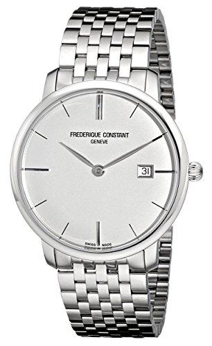 Frederique Constant Geneve Slimline FC306S4S6B Reloj elegante para hombres Muy llano