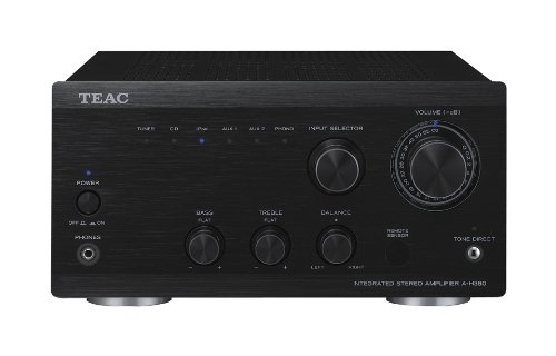 Teac AH380 2x45w Black Mini Seperate Remote Control Amplifier from the Ref300 series Black Friday & Cyber Monday 2014