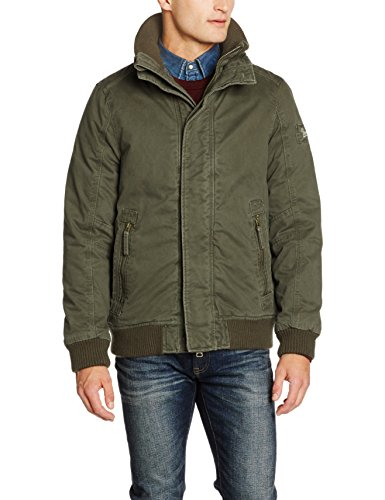 Brandit Pike Road Outdoorjacket, Giacca Uomo, Grün (Olive 1), Large