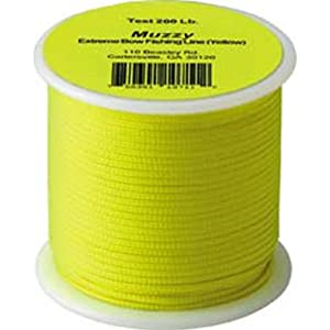 Muzzy bow fishing line 200 pounds 75 feet for Amazon fishing line