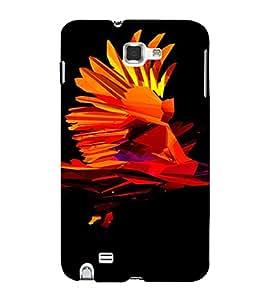PrintVisa Modern Art Eagle Design 3D Hard Polycarbonate Designer Back Case Cover for Samsung Galaxy Note 1