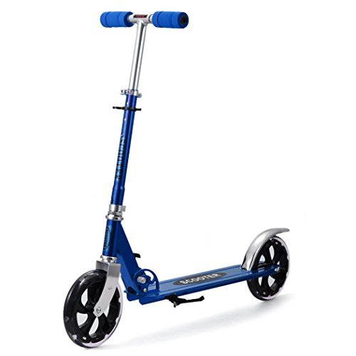 Ancheer Scooter Roller Tretroller Cityroller Kinderroller klappbar 205 mm Wheel NEU Farbe: Blau