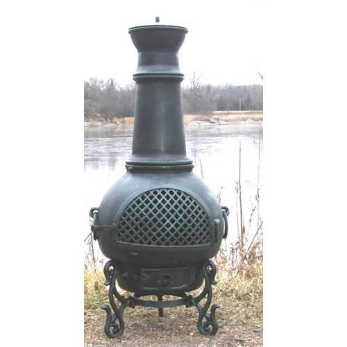 Outdoor-Chimenea-Fireplace-Gatsby-in-Gold-Accent-Finish-Gas-Fueled
