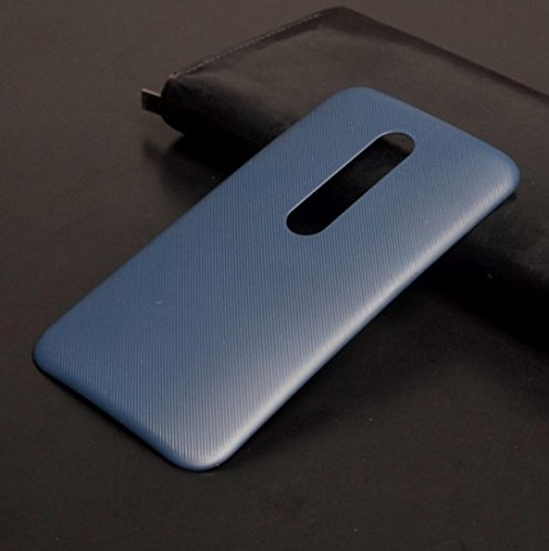 PES Replacement Battery Door Panel Housing Back Cover Case Shell for Motorola G (3rd Generation) Moto G3 - Grey