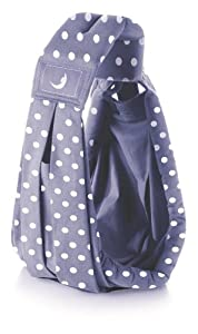 We Made Me theBabaSling Classic Baby Carrier (Polka Blue)