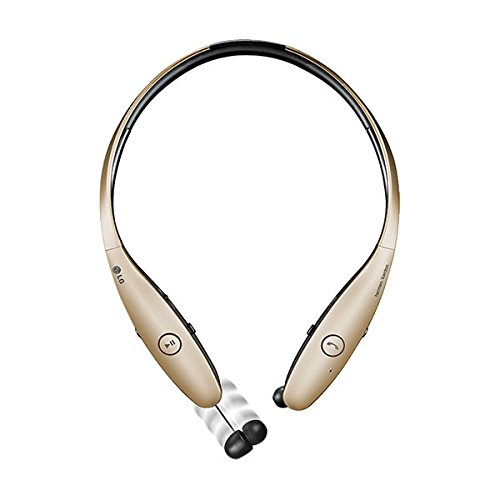 Click to buy LG Electronics Tone Infinim HBS-900 Bluetooth Wireless Stereo Headset- Retail Packaging - Gold - From only $47.95