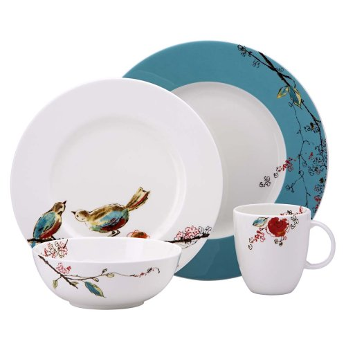 Lenox Simply Fine Chirp 4-Piece Place Setting, Service for 1